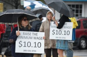 minimum wage rally 2.16.16