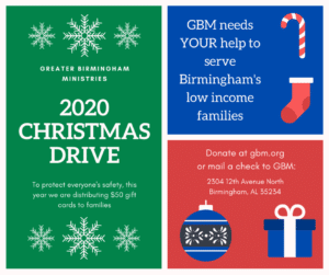 Christmas Assistance Shelby County Al 2020 Christmas 2020   Greater Birmingham Ministries